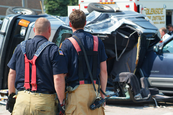 Bloomingdale - Glenside FPD - August 13, 2007 - Extrication accident