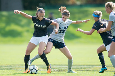 OU Women's Soccer vs. Utah State 9/17/2017