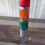 SKU: AE-LIGHT/3, Indication Signal Tower Warning Lights of 3 Colours, Red, Yellow and Green