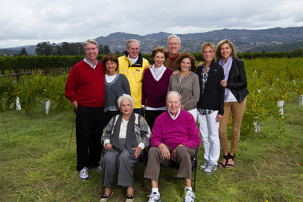 Odonovan Family at Trefethen Winery