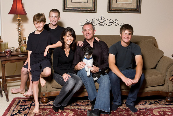 Angie, Paul, Charlie,Christian and Scotty