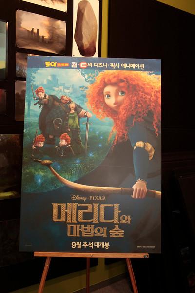 Pixar-Brave-Korean Press 2012