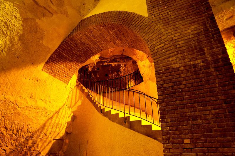 Cellar at Tattinger Champagne