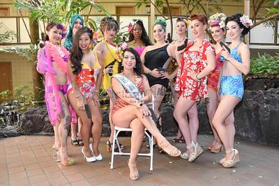 Miss Tiki Oasis 2017 Poolside Strut