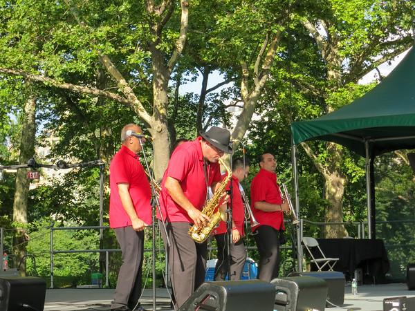 Fanfare Ciocarlia, show in Central Park - New York, July 14, 2013