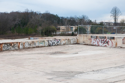 Demolished Glidden Paint Factory