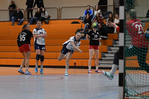 Frauen TSV 1 vs HSH Lussheim