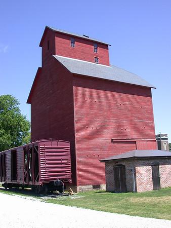 J.H. Hawes Grain Elevator & Museum in Atlanta
