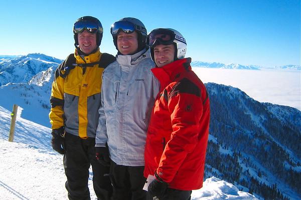 Skiing in Salt Lake City 2011