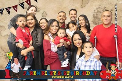 Jaren Riley's 1st Birthday (Green Screen Party Portraits)