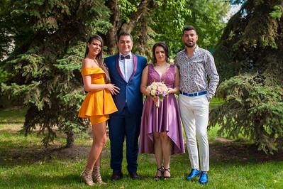 Fotografii grup casatorie