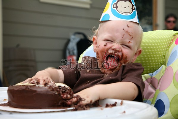 Tucker's 1st Birthday