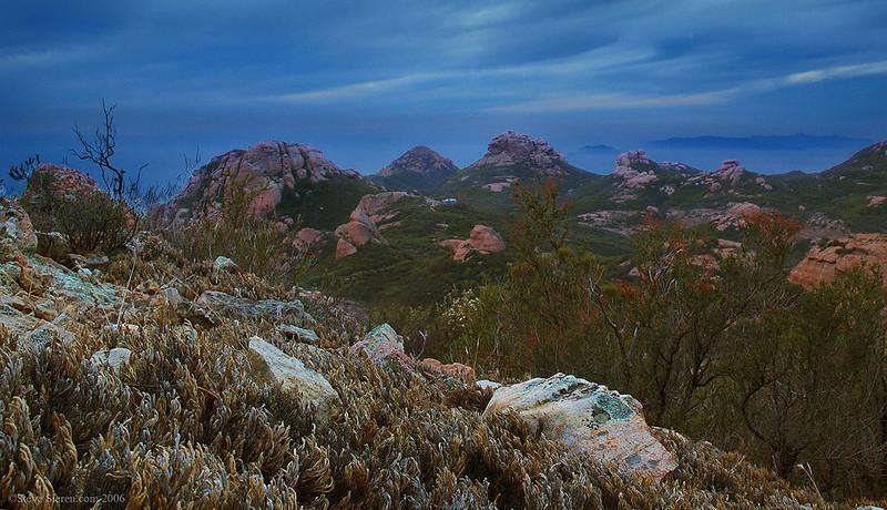 Tri Peaks - Santa Monica Mountains National Recreation Area / Boney Mountain Wilderness