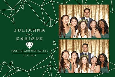 Julianna+Enrique ~ Photobooth!