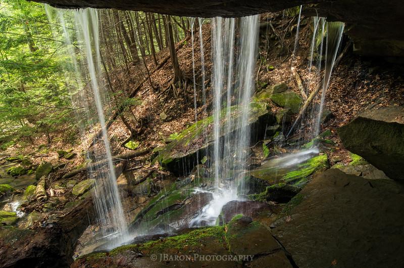 Behind Eckert Falls