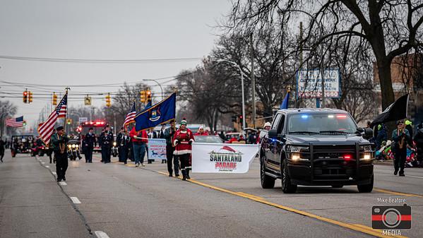 Garden City Santaland Parade