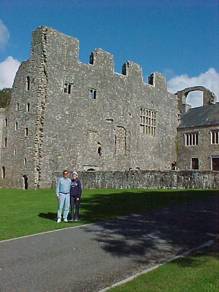 Dale Darcy Oxwich Castle.JPG