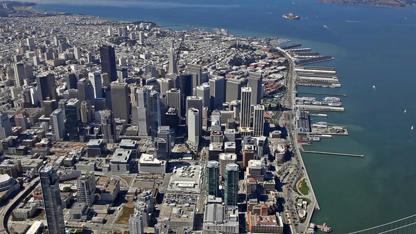 Aerial HD Video of San Francisco