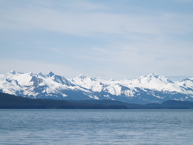 Chilkat Range - the peninsula separates Lynn Canal from Glacier Bay