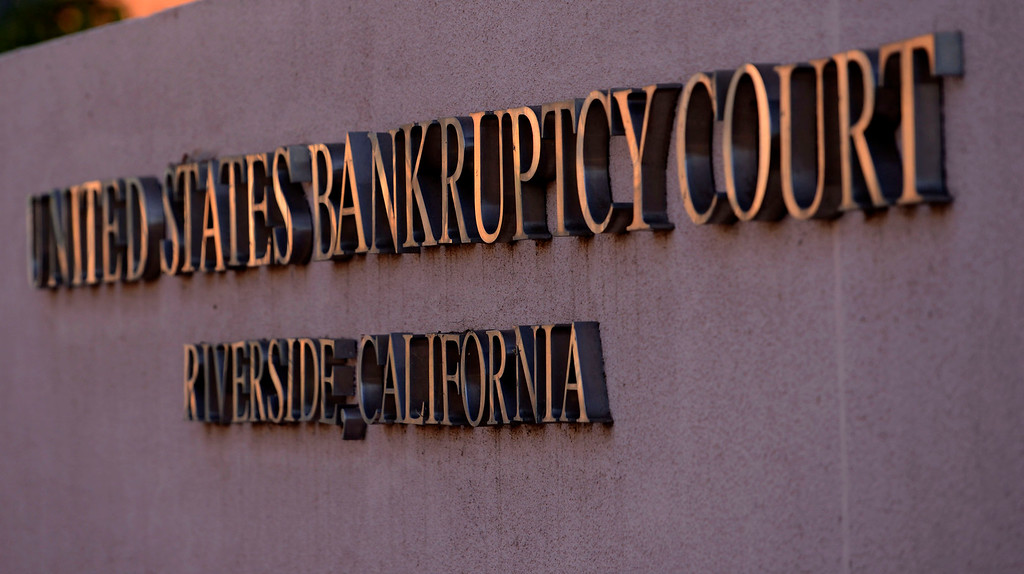 . A view of the United States Bankruptcy court in Riverside August 28. 2013.  GABRIEL LUIS ACOSTA/STAFF PHOTOGRAPHER.