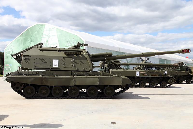 Самоходная артиллерийская установка 2С19 Мста-С (2S19 Msta-S self-propelled artillery)