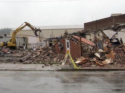 Demolition Underway - Oct 21, 2011