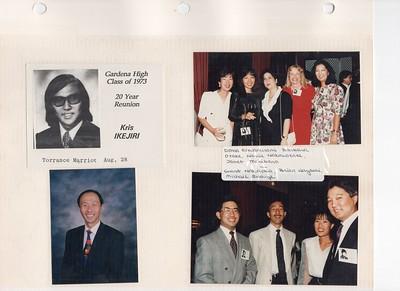 8-28-1993 Gardena High School Class 1973 Reunion