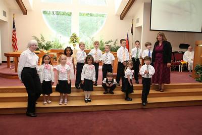 PUMC Cherub Vocal Choir
