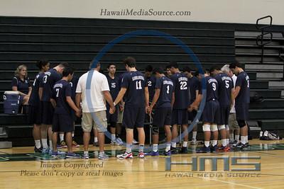 Kamehameha Boys Volleyball - MPI 3-25-14