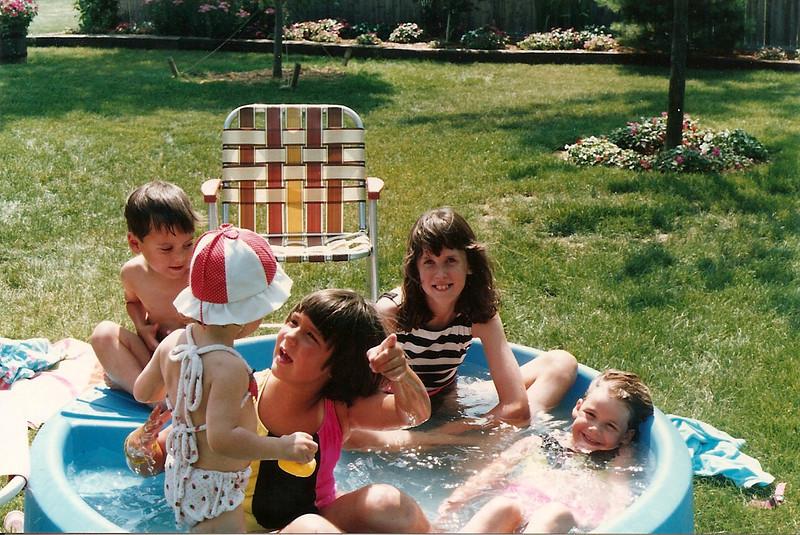 Johnny, Maddie, Bridget, Catherine, Brittany   7/90