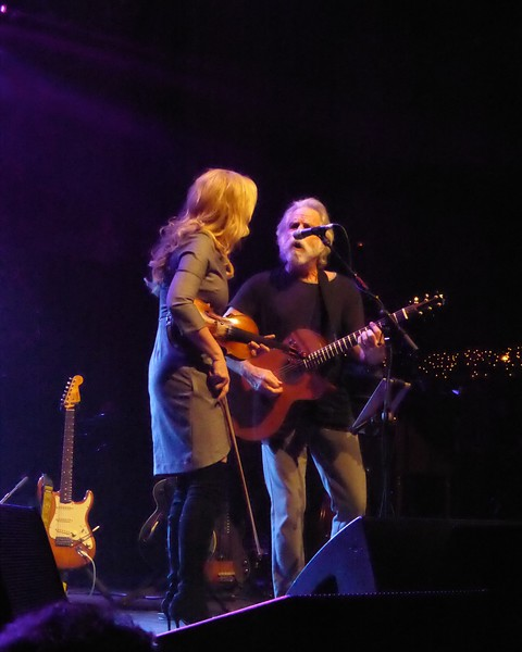 Bob Weir & Alison Krauss - Peggy-O at Christmas Jam 2016