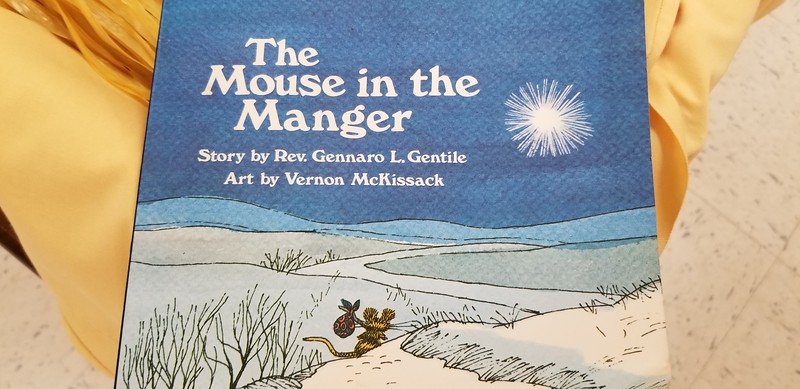 """2018-12-23 """"The Mouse in the Manger"""