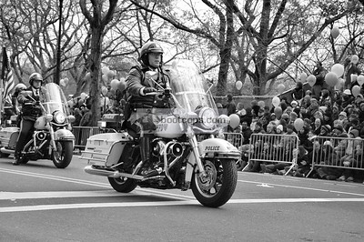 NYPD Highway Patrol Thanksgiving Day Parade 2008