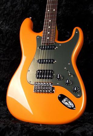NOS Retro #3791, Orange Pearl, Grosh S/S/H Pickups