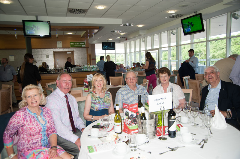 18th June 2017; Pictured are guests of Parkway Farm Stud enjoying the Fathers Day raceday at Cork Racecourse Mallow on Sunday 18th June 2017. Photo by Sean Jefferies Photography.