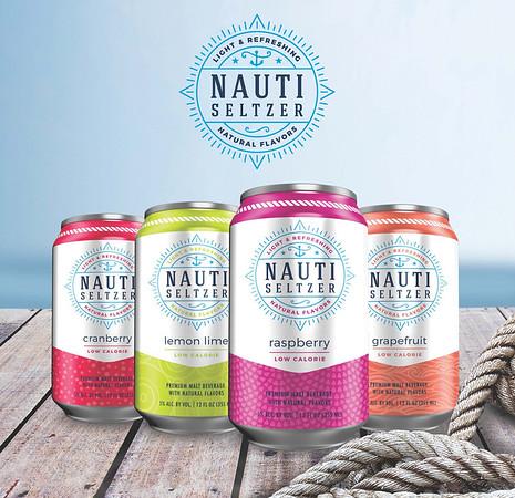 Nauti Seltzer by Wachusett Brewery