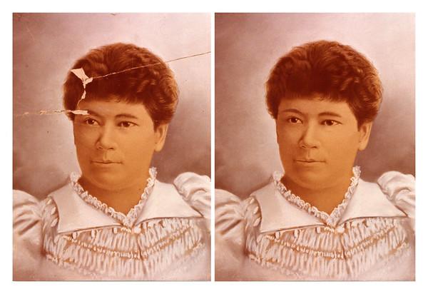 Photo restoration portfolio