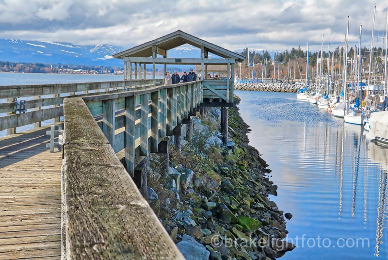 Fisherman's Wharf Boardwalk at Comox Municipal Marina