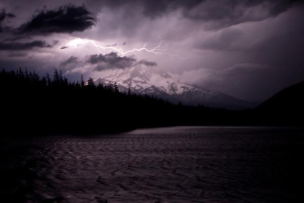 Lightning at Lost Lake