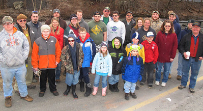Trout Unlimited Clean Little Schuylkill River, Boyers, Tamaqua (3-22-2014)