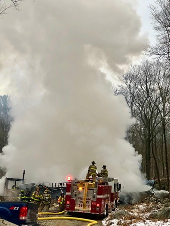 Putnam Valley, Working Fire, Canopus Hollow Rd