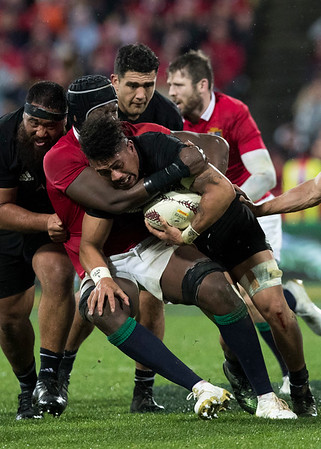 Ardie Savea during game 9 of the British and Irish Lions 2017 Tour of New Zealand, the second Test match between  The All Blacks and British and Irish Lions, Westpac Stadium, Wellington, Saturday 1st July 2017 (Photo by Kevin Booth Steve Haag Sports)  Images for social media must have consent from Steve Haag