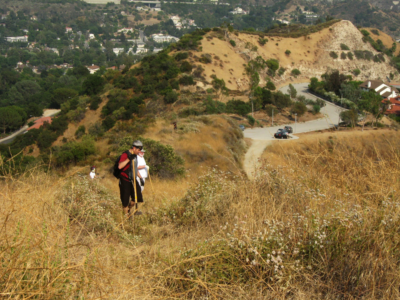 20080625006-Glendale Las Flores Trailwork.JPG
