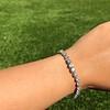 10.50ctw Round Brilliant Diamond Tennis Bracelet 26