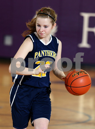2013-2014 Coudersport Holiday Tournament Cowenesque Valley Girls Basketball vs. Northern Potter