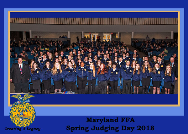 Maryland FFA Spring Judging