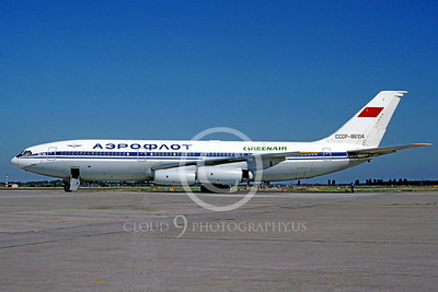 Green Air Ilyushin IL-86 Airliner Pictures