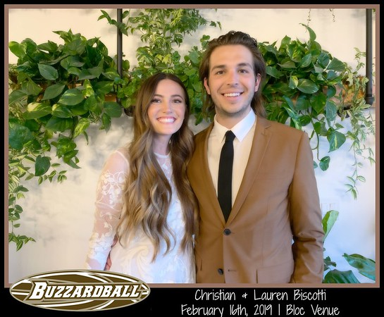 FEBRUARY 16TH, 2019 | Christian and Lauren Biscotti