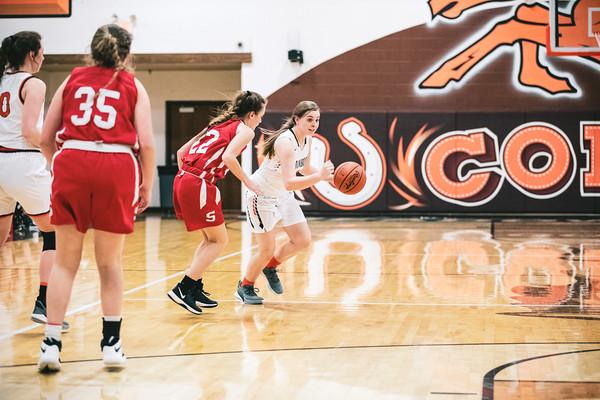 MHS Basketball vs. Sheridan Girls