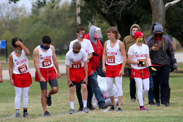 WHS Cross Country @ Chanute (4A REGIONAL)